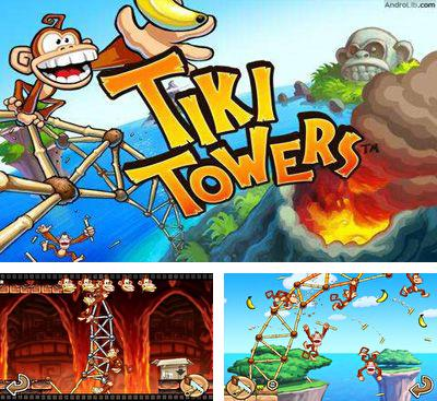 In addition to the game Tiki Towers 2 Monkey Republic for Android phones and tablets, you can also download Tiki Towers for free.