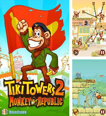 In addition to the game Tiki Towers for Android phones and tablets, you can also download Tiki Towers 2 Monkey Republic for free.