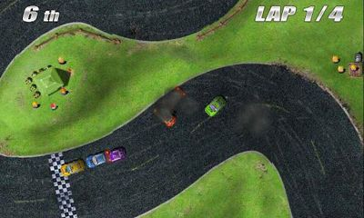 Screenshots von Tilt Racing für Android-Tablet, Smartphone.