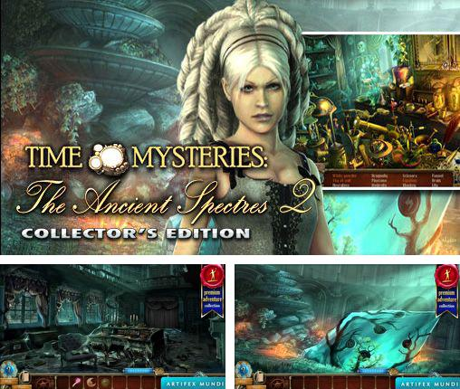 In addition to the game The cursed ship for Android phones and tablets, you can also download Time mysteries 2: The ancient spectres for free.