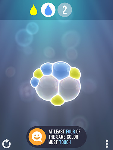 Tiny bubbles screenshot 1