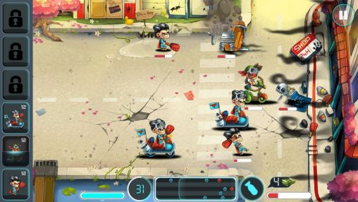 Screenshots von Tiny busters für Android-Tablet, Smartphone.