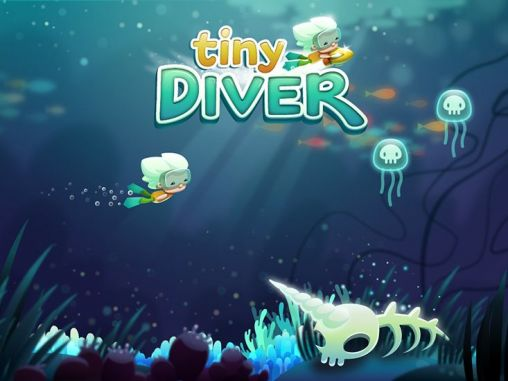 Tiny diver poster