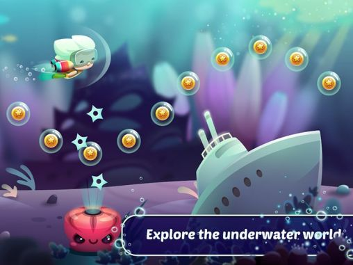 Screenshots do Tiny diver - Perigoso para tablet e celular Android.
