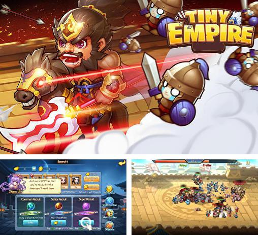 In addition to the game Pharaoh's war for Android phones and tablets, you can also download Tiny empire for free.