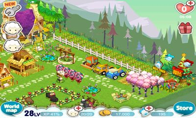 Screenshots do Tiny Farm - Perigoso para tablet e celular Android.
