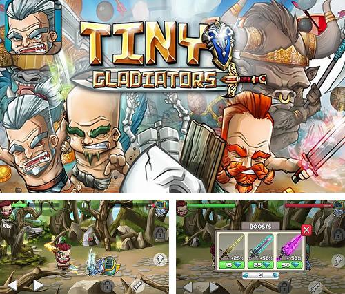 In addition to the game Battle Cats for Android phones and tablets, you can also download Tiny gladiator for free.