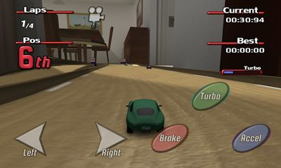 Capturas de pantalla de Tiny Little Racing 2 para tabletas y teléfonos Android.