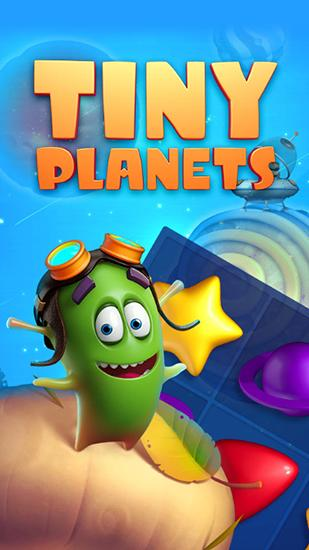 Tiny planets. Tiny space poster