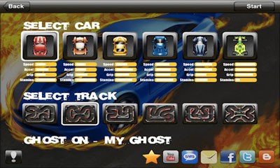 Screenshots von Tiny Racing für Android-Tablet, Smartphone.