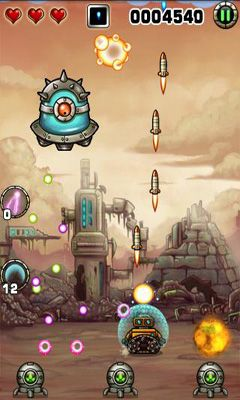 Screenshots von Tiny Robots für Android-Tablet, Smartphone.