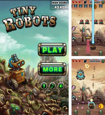 In addition to the game Yoo Ninja Plus for Android phones and tablets, you can also download Tiny Robots for free.