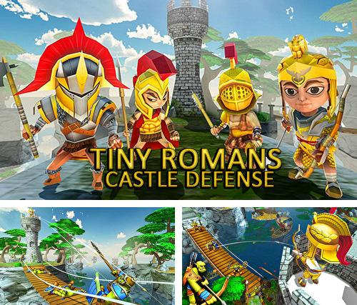 Tiny romans castle defense: Archery games