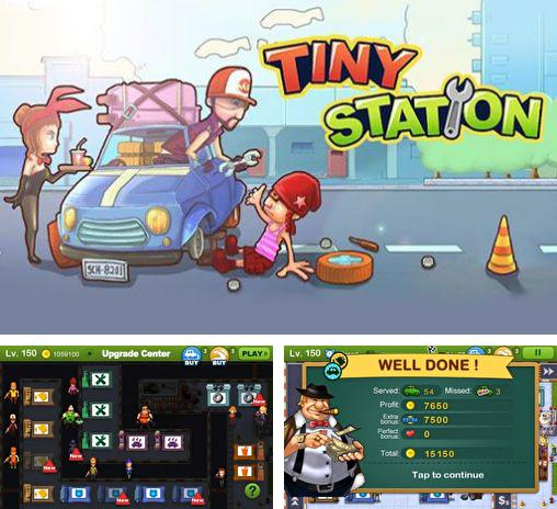 In addition to the game Circuit chaser for Android phones and tablets, you can also download Tiny station for free.