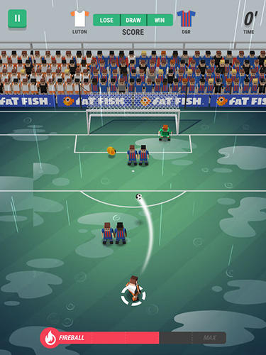 Tiny striker: World football screenshot 2