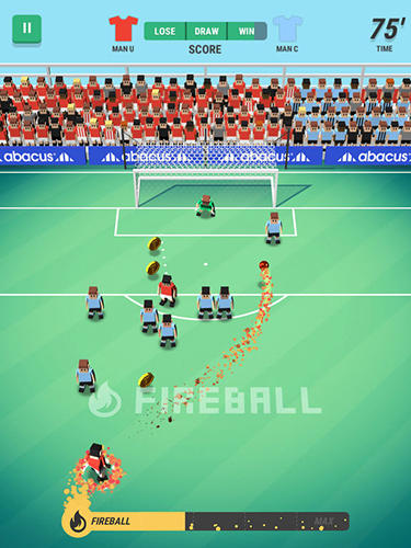 Screenshots von Tiny striker: World football für Android-Tablet, Smartphone.