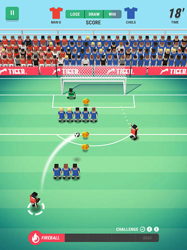 Tiny striker: World football screenshot 4