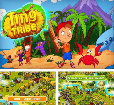 In addition to the game Aqua city: Fish empires for Android phones and tablets, you can also download Tiny Tribe for free.