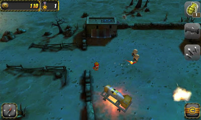 Screenshots von Tiny Troopers für Android-Tablet, Smartphone.