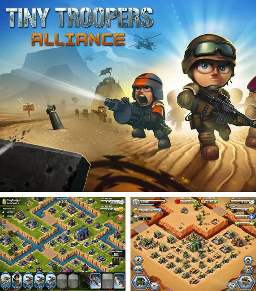In addition to the game Army of heroes for Android phones and tablets, you can also download Tiny troopers: Alliance for free.