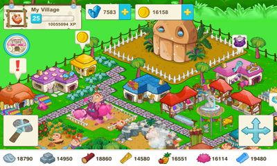 Screenshots do Tiny Village - Perigoso para tablet e celular Android.