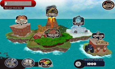 Download Tires of Fury Monster Truck Racing Android free game.