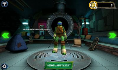Download TMNT:  Rooftop run Android free game.