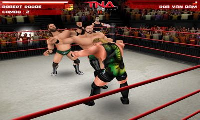 TNA Wrestling iMPACT screenshot 1
