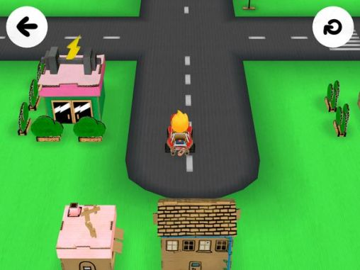Screenshots von Toca: Cars für Android-Tablet, Smartphone.