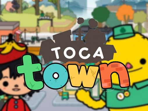 Toca town poster