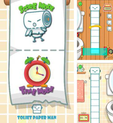 In addition to the game Sling It for Android phones and tablets, you can also download Toilet Paper Man for free.