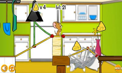 Jouer à Tom and Jerry in Rig-A Bridge pour Android. Téléchargement gratuit de Tom et Jerry à la Construction du Pont.