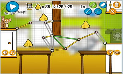 Écrans de Tom and Jerry in Rig-A Bridge pour tablette et téléphone Android.