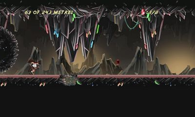 Screenshots von Tomb Runner: The Crystal Caves für Android-Tablet, Smartphone.