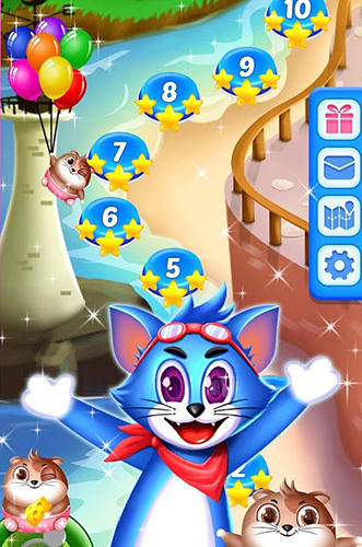 Kostenloses Android-Game Tomcat Pop: Bubble Shooter. Vollversion der Android-apk-App Hirschjäger: Die Tomcat pop: Bubble shooter für Tablets und Telefone.