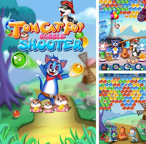 In addition to the game Pet paradise: Bubble shooter for Android phones and tablets, you can also download Tomcat pop: Bubble shooter for free.