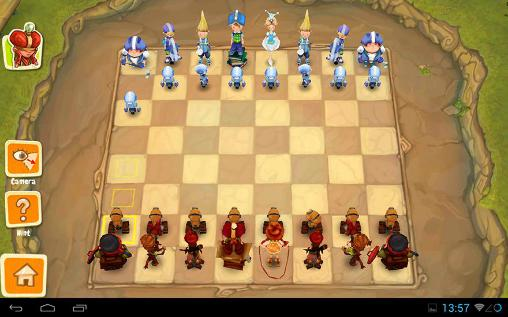 Тoon clash: Chess screenshot 1