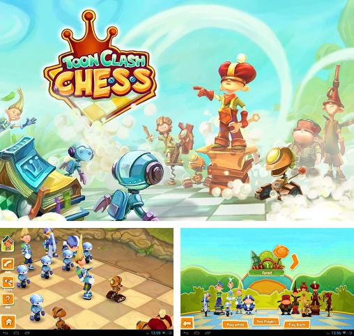 In addition to the game Morph Chess 3D for Android phones and tablets, you can also download Тoon clash: Chess for free.