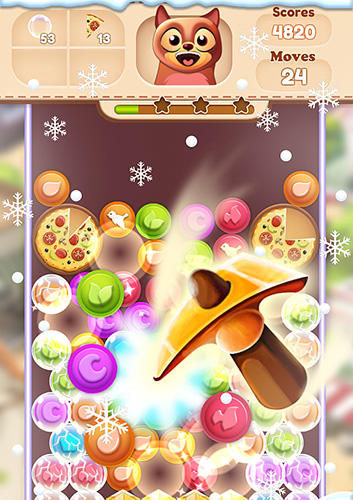 Toon collapse blast: Physics puzzles screenshot 1