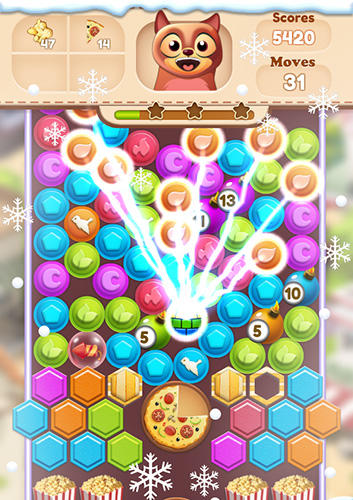 Toon collapse blast: Physics puzzles screenshot 3