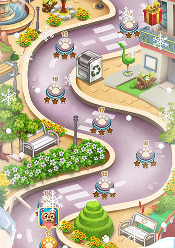 Toon collapse blast: Physics puzzles screenshot 4