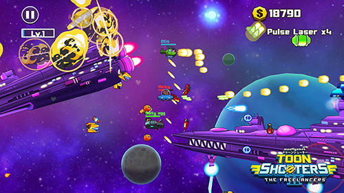 Toon shooters 2: The freelancers für Android spielen. Spiel Toon Shooters 2: Die Freelancer kostenloser Download.