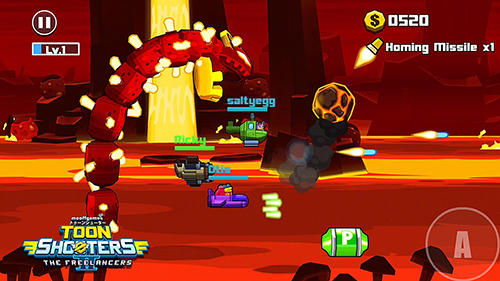 Screenshots von Toon shooters 2: The freelancers für Android-Tablet, Smartphone.