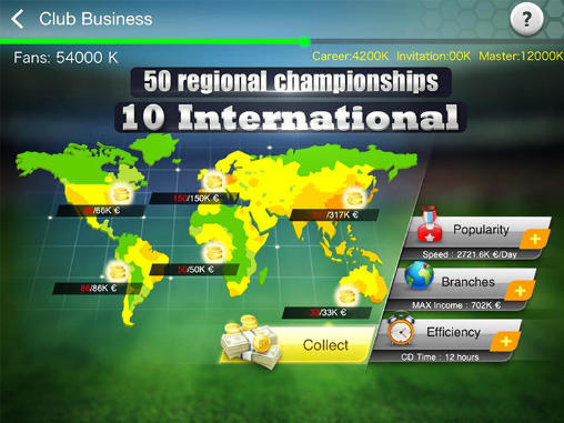 Геймплей Top 12: Master of football для Android телефону.