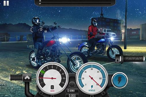 Top bike: Racing and moto drag für Android spielen. Spiel Top Bike: Motorradrennen kostenloser Download.