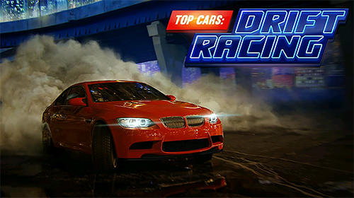 Top cars: Drift racing poster