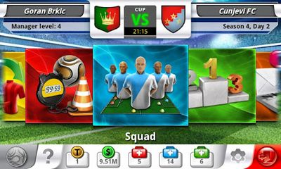 Download Top Eleven Android free game.