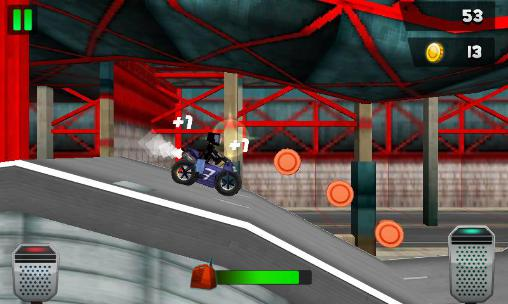 Геймплей Top motorcycle climb racing 3D для Android телефону.