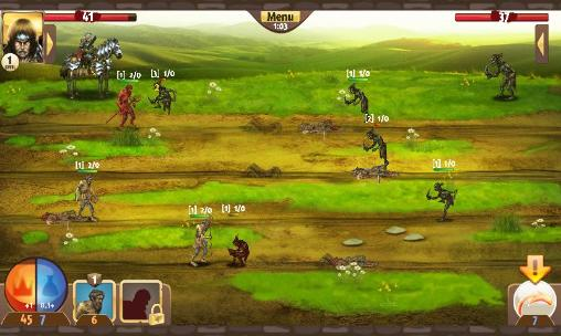 Screenshots von Top of war für Android-Tablet, Smartphone.