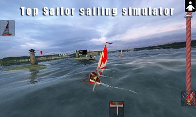 Top Sailor sailing simulator poster